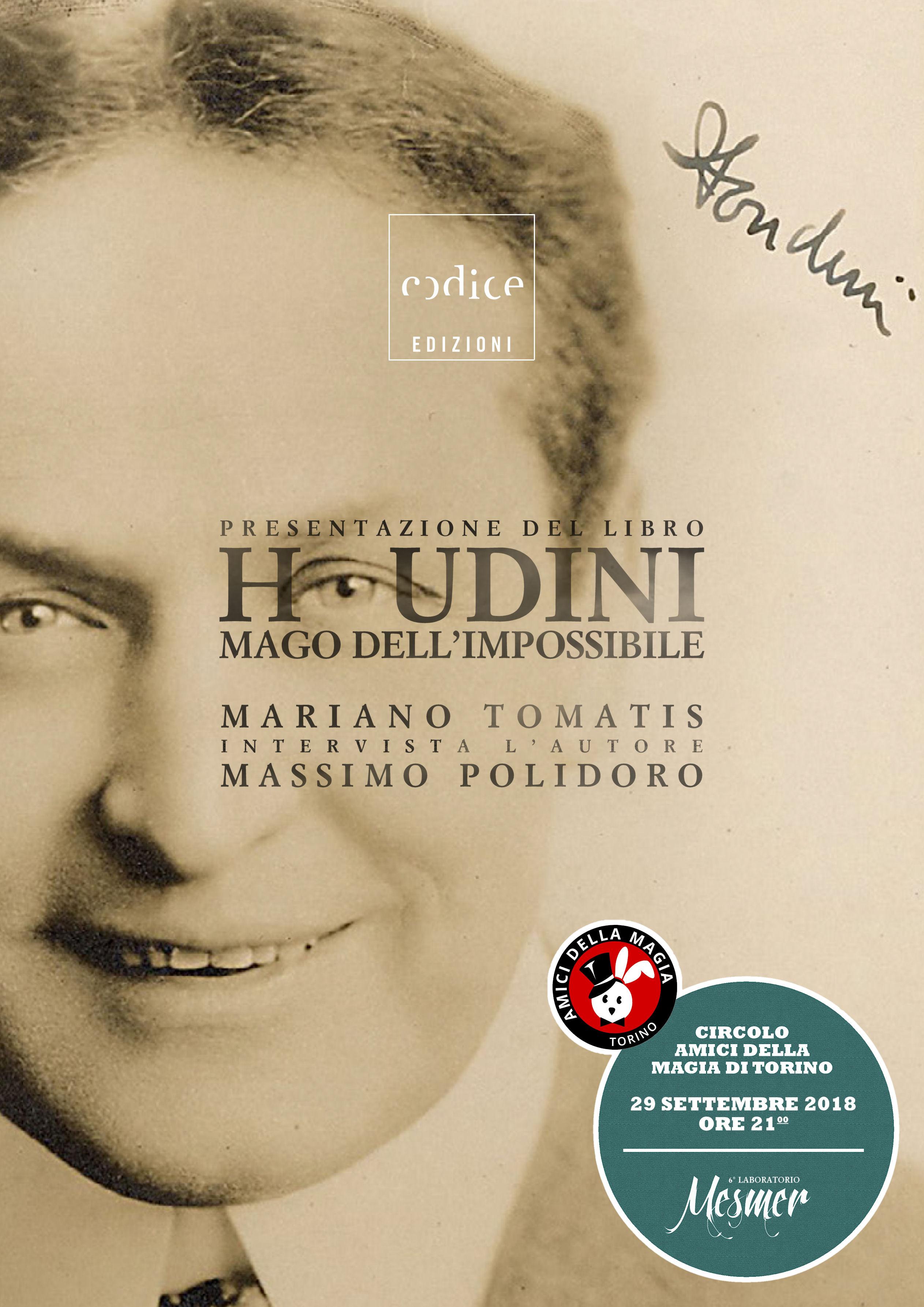 houdini polidoro  Houdini. Il mago dell'impossibile